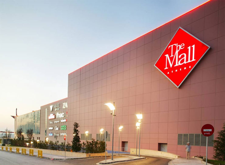 the mall athens   emergency lighting projects   central